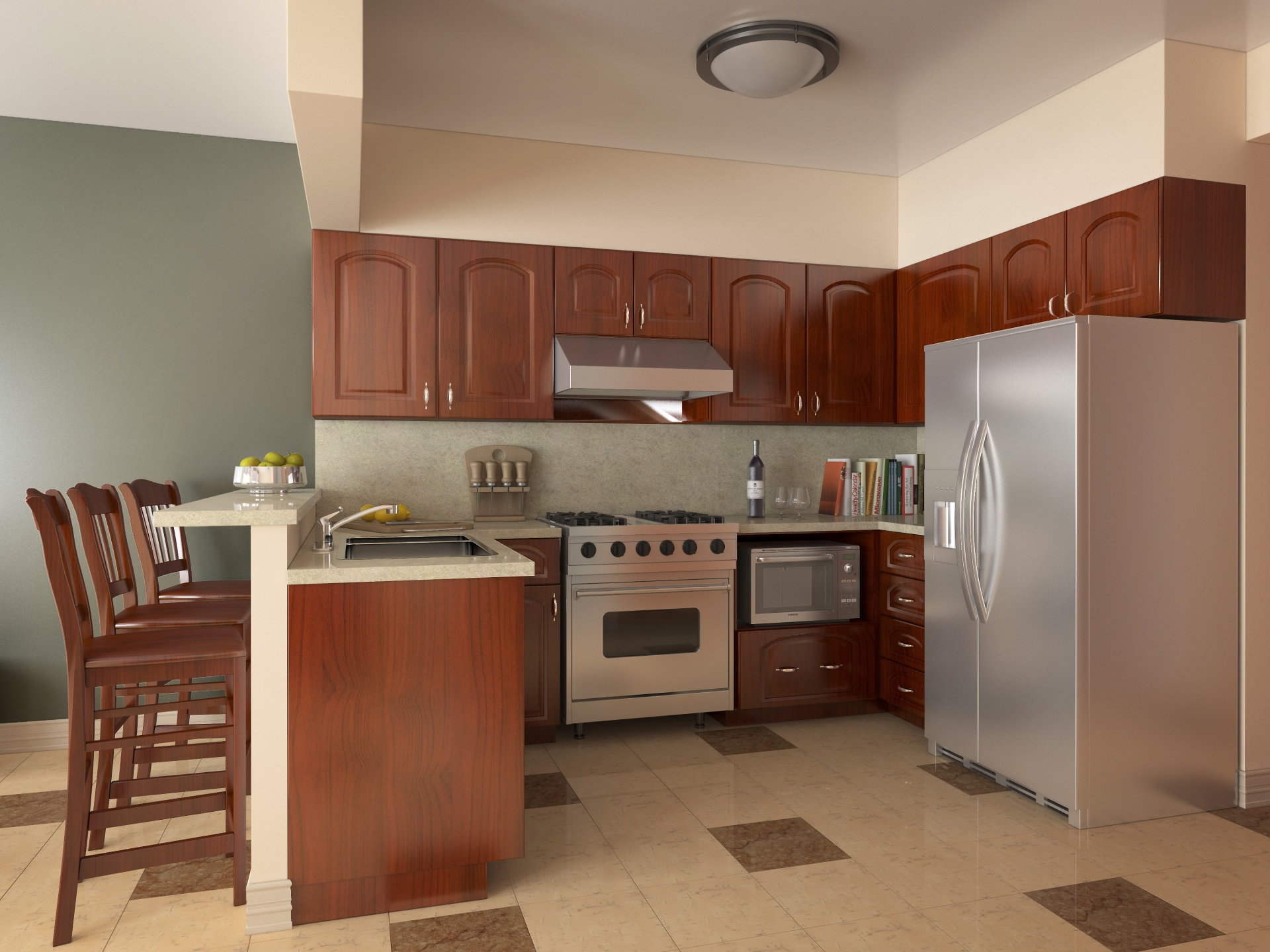 Culinary Institute of American - The Villas - New Townhouse