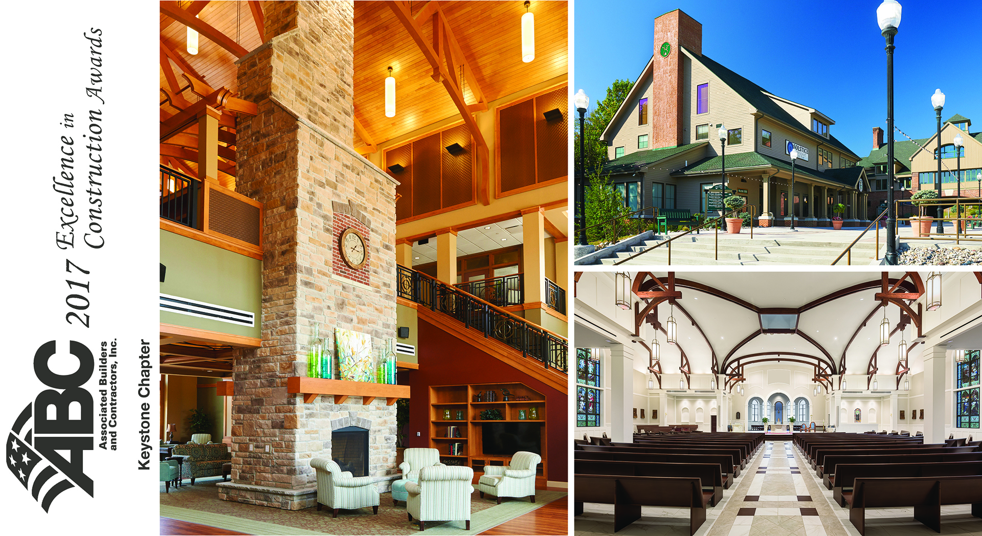 Three Projects Recognized At ABC Keystone Chapter Excellence In Construction Gala